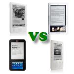 eReader Mega Roundup: Spring Design Alex VS Barnes & Noble Nook VS Amazon Kindle 2 VS Kindle DX - Detailed Comparison