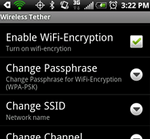Free Android WiFi Tether For Root Users App Now Supports WPA2 And Full Hotspot (Infrastructure) Capabilities On EVO 4G