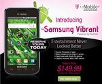 [Instant Discount] Pre-order Your T-Mobile Samsung Vibrant Galaxy S Series Phone At Wirefly For $149.99 - That's $50 Cheaper Than T-Mobile
