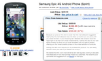 Amazon Gets Aggressive - Samsung Epic 4G For $200 With New Contract
