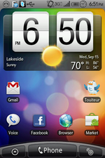 Want Sense On Your Non-HTC Device? Download The Sense Theme For ADWLauncher