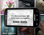 Sprint Launches An Epically Awful Ad Campaign To Promote Samsung Epic 4G And Media Hub