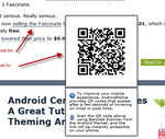 New AndroidPolice.com Feature: Instant QR Magic - Hover On Any Link In Any Post To Get The Corresponding QR Code [+Poll]