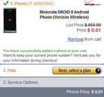 Amazon Now Selling The Motorola Droid 2 For Just A Penny