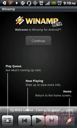 [Updated] Winamp For Android Arrives To The Android Market, Features Lockscreen Widget (!), Whips Llama's Ass [Hands-On]