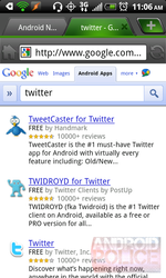 Google Adds Android App Search To The Google.com Mobile Interface