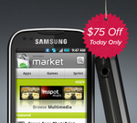 Virgin Mobile USA's Cyber Monday Deal: $75 Off Samsung Intercept ($174.99, No Contract)