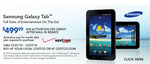 Costco Reduces Price Of Samsung Galaxy Tab To $500 With One Month Of Data From Verizon