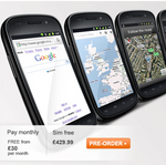 Nexus S UK Pre-Order Price Drops To £430 SIM-Free, £0 On Contract