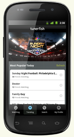 Tunerfish Releases Android App, Aims To Be FourSquare For TV, Movies, And Videos (Complete With A Back Story - Read It)