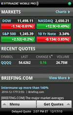 Get Your Trade On With E*TRADE Mobile Pro And Fidelity Investments For Android