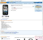 Amazon Accidentally Leaks Pricing Of Motorola Atrix 4G ($150/$600) And HTC Inspire 4G ($100/$500)