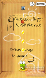 Rope Cut, A Cut The Rope Clone, Enters The Android Market