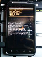 HTC Thunderbolt Rooted With S-OFF, Successfully Running ClockworkMod Recovery