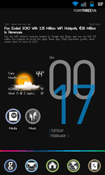 The Beautiful Cowon D3 Clock Widget Now Available For Download