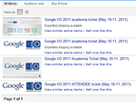 The Peak Of Desperation - Google I/O 2011 Tickets Going For As High As $2000 On eBay