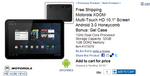 [Deal Alert] Wi-Fi XOOM For $589.99 + Gel Case + Free Shipping From Costco; Amazon Is Taking Pre-orders Too [Updated]