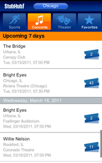 Ticketing Marketplace StubHub Gets Punched Into The Android Market