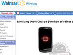 Samsung DROID Charge Shows Up On Walmart Site, Still Unannounced