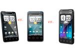 HTC EVO 4G vs. EVO Shift vs. EVO 3D: Battle Of The Specs