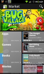[Updated: 3.0.27] Download: The New Android Market v3.0.27 With Support For Movies, Books, And Multiple Accounts