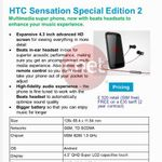 HTC To Release Sensation Special Edition, With Bigger Battery, Faster Processor And Beats Audio