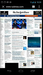 Ice Cream Sandwich Feature Closer Look - New Browser (No, It Isn't Chrome) Includes Tabs, Desktop Mode, And More