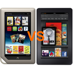 Barnes & Noble NOOK Tablet Vs. Amazon Kindle Fire: FIGHT!
