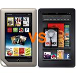 Barnes & Noble NOOK Tablet Vs. Amazon Kindle Fire: FIGHT!