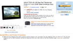 [Updated x3] All Four Variants Of ASUS Transformer Prime Return To Amazon With Free One-Day Shipping In Tow