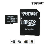 [Deal Alert] Patriot Class 10 16GB MicroSD Card For $10 After Mail-In-Rebate From Newegg