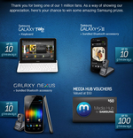 Samsung Mobile USA Giving Out 10 Of Each Of These On Facebook: Galaxy Nexus, SGSII, Tab 10.1 - Jump In By Jan 15 '12