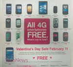 [Update: Extended Through Sunday] T-Mobile Planning Valentine's Sale – All Phones (And Some Tablets) Free