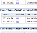 Nexus S 4G Factory Image (4.0.4) Now Available Straight From Google, In Case You're Feeling ROM Remorse