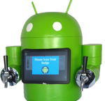Meet KegDroid: An Android/Arduino-Powered Keg In The Shape Of Our Favorite Robot: Your Argument Is Invalid