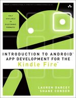 [Book Giveaway] Win One Of Ten Copies Of Introduction To Android App Development For The Kindle Fire
