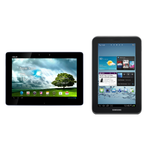 ASUS Transformer Pad 300 And Samsung Galaxy Tab 2 7 Available Today For $400 And $250, Respectively