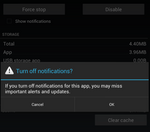 One Of Jelly Bean's Best Features - Say Goodbye To Notification Spam By Selectively Disabling Notifications For Individual Apps