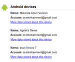 PSA: Your Android Devices Appear In Google Dashboard, Find Out Which Apps Have Backups Available