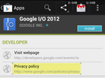 Google Play Store Increases Transparency, Now Lets App Developers Publish Privacy Policies