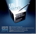 Watch Samsung's Mobile Unpacked Event From IFA 2012 Online Now