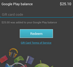 One Lucky Guy Buys $25 Google Play Store Gift Card, We Successfully Redeem It [Hands-On]