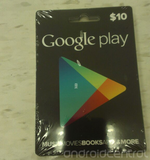 Images Of Google Play Gift Cards Show Up Online In $10 And $25 Increments
