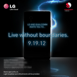 LG Teases A Smartphone Announcement Set For September 19th, Promises A Life 'Without Boundaries'