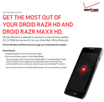 Verizon's Motorola DROID RAZR HD And RAZR MAXX HD Now Support Isis Mobile Wallet