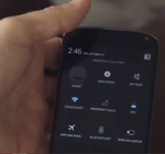A Closer Look At Android 4.2's Quick Settings Menu And The Two-Finger Swipe To Open It Instantly