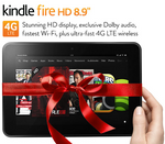 "[Deal Alert] Get $50 Off Kindle Fire HD 8.9"" Wi-Fi Or LTE With Amazon's Gold Box Deal Of The Day Coupon"
