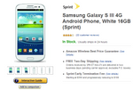 [Deal Alert] Sprint 16GB GSIII Only $0.01, 32GB For $50 For New Customers From Amazon Wireless