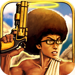 In 'Sacred Guns', You're An Afro-Sporting Angel Defending Noah The Pirate's Ark From Teletubbies Because AWESOME