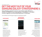 Jelly Bean Rolling Out Now To The Samsung Galaxy Stratosphere II On Verizon